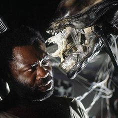 Yaphet Kotto as Parker in a publicity still for #Alien (1979)