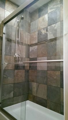Digital Art Gallery x slaty tile kohler forte shower kohler shower door Remodeling Bathroom