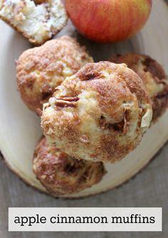Recipe for Apple Cinnamon Muffins.