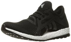 adidas Performance Womens Pureboost X Running Shoe BlackBlackSolid Grey 9 M US -- Details can be found by clicking on the image. 60s Shoes, Me Too Shoes, Vintage Sneakers, Vintage Shoes, Adidas Shoes Women, Adidas Sneakers, Running Shoe Reviews, Sports Women, Design Styles
