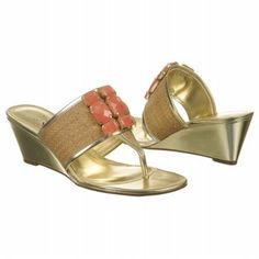 Cutest coral wedges. $39.99