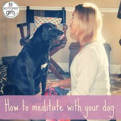 How to meditate with your dog and so many other good furry links!