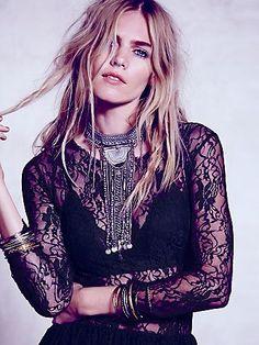 Lotta Stensson Lotta Lace Dress #fashion #LottaStenssonLovesFreePeople #lottastenssondesign #freepeople