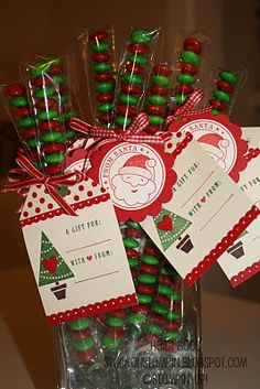 12 days of Christmas {projects} - day 1  So many cute little gifts that are affordable that could be used for the 12 days of christmas, or pick one to do for family, teachers, friends.