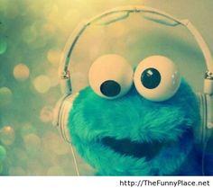 Cookie monster funny wallpaper