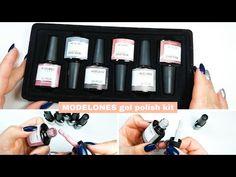 Modelones gel polish kit SWATCHES smalto semipermanente | desmynails - YouTube Nails Design, Gel Polish, Youtube, Gel Nail Varnish, Youtube Movies, Nail Polish