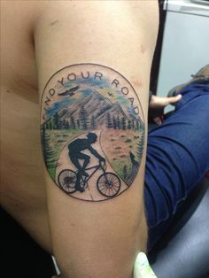 Tatoo bike montain