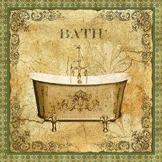 I uploaded new artwork to fineartamerica.com! - 'Vintage Bath' - http://fineartamerica.com/featured/vintage-bath-jean-plout.html via @fineartamerica