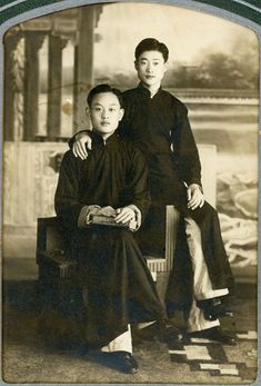 Vintage Photography, Portrait Photography, Turandot Opera, China Art, Qingdao, World History, Asian Men, Fashion History, Vintage Ads