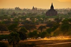 Bagan when the sunset by Tonnaja Anan Charoenkal on 500px