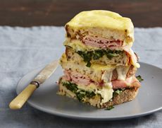 I'm trying to Pin it to Win it! To guarantee a spot on the next I Quit Sugar Program, CLICK THIS IMAGE. Yes, food really looks THIS good when you quit sugar. Cheat's Croque Monsieur on the Program – I Quit Sugar Clean Eating Recipes, Cooking Recipes, Healthy Eating, Sugar Free Recipes, Yummy Recipes, Keto Recipes, Healthy Recipes, No Sugar Foods, Recipe Using