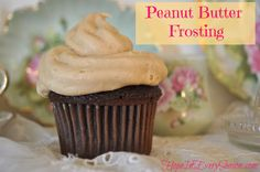Hope In Every Season: Peanut Butter Frosting for the Homemaking Party