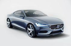 Nya Volvo Concept Coupé. Volvos framtid har anlänt. #ConceptCoupé