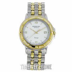 Raymond Weil Tango Two Tone Quartz Watch 5560 with Box in Wristwatches | eBay