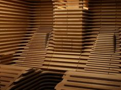 BIORHYTHM PRIVATE EDITION sauna with slat design inner cladding, two benches specially moulded to fit the body and sunroof