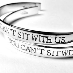 Mean Girls Cuff Bracelets | 38 Perfect Pieces Of Jewelry To Share With Your Best Friend