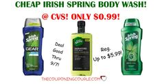 CHEAP CHEAP CHEAP Irish Spring Body Wash! Grab some for only $0.99 at CVS! Print your coupons now!  Click the link below to get all of the details ► http://www.thecouponingcouple.com/cheap-irish-spring-body-wash-only-0-99-cvs/ #Coupons #Couponing #CouponCommunity  Visit us at http://www.thecouponingcouple.com for more great posts!