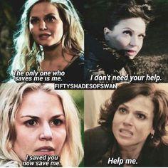 Awesome Regina Evil Queen Regina Emma (Lana and Jen) #Once #S4