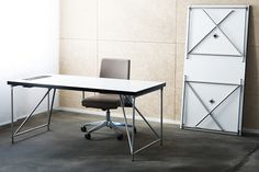 Working I Office I Home I Interior I Furniture I Desktop I Schreibtisch I Klappgestell I Table Rack Pod S by System 180 - Design Made in Berlin