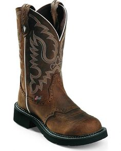 Justin Leather Gypsy Boots