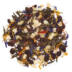 Green Passionfruit-An all-natural, super refreshing blend of green tea, pineapple and passion fruit. Passion Fruit Tea, Davids Tea, Types Of Tea, Flower Petals, Green Leaves, Acai Bowl, Tea Time, Pineapple, Ethnic Recipes