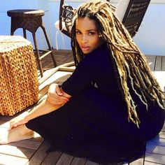 Ciara Shows Off Her Faux Locs On Instagram And The Blogs Are Buzzing  Read the article here - http://www.blackhairinformation.com/general-articles/celebrities/ciara-shows-faux-locs-instagram-blogs-buzzing/ #ciara #fauxlocs #locs #celebrityhair