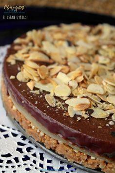 Marcipános csokitorta robbanós cukorkával – sütés nélkül készül | Életszépítők