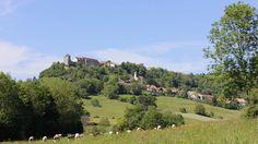 Randonnée Franche-comté - château de Belvoir