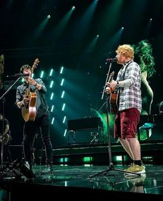 "Shawn And Ed Sheeran... I saw this performance and I was fab!!! When Ed came, I was like ""Omg!!!Two at once!!!"""
