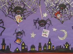 spider book bulletin board