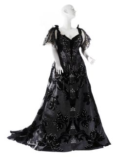 Worth evening gown, 1894