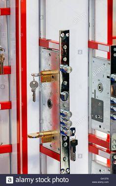 Antique Swiss Bank Safe Deposit Box Combination Lock   Hidden Door ...