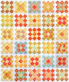 30 blocks for a quilt-top for Siblings Together, Group project 2 by dutchcomfort, via Flickr