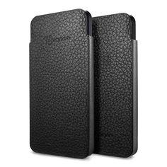 Чехол SGP Crumena S Leather Pouch Black для iPhone 5 - 499 грн.