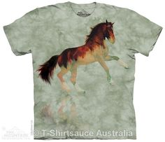 Forest Stallion Horse Adults T-Shirt