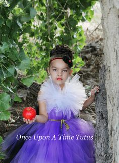 Evil Witch Tutu Dress Halloween Costume by OnceUponATimeTuTus