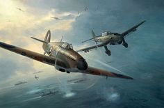 """A Stuka in my Sights"" by  Mark Postlethwaite"