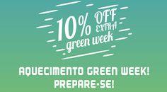 Promoção Green Week da Groupon - Descontos incríveis #greenweek #groupon #pacotes #viagens #promoção