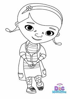 Doc McStuffins Coloring Pages |