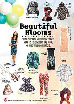 Beautiful Blooms   ALLURE Spring Postcard Series 3