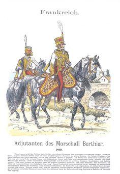 Band XIV #37.- Frankreich. Adjutanten des Marschalls Berthier. 1809.