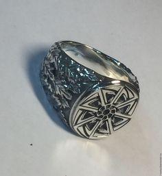 """Купить Перстень """"Коловрат"""" - кольцо, коловрат, серебро 925 пробы"""