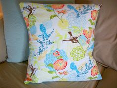 How to make throw pillow covers. DIY.