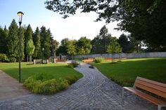 Park roku 2013 - 1. místo   SZUZ Park Landscape, Parks, Sidewalk, Ideas, Side Walkway, Walkway, Thoughts, Walkways, Parkas