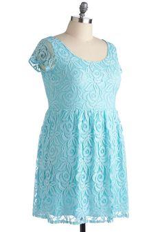 Dear Blue Sky Dress in Plus Size, #ModCloth <-- rehearsal dinner?