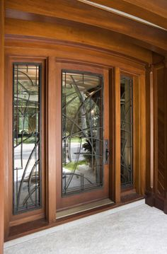 Doors by Design offers a wide selection of custom wood and iron doors. We work with each customer to create the exact door for their dreams. Iron Front Door, Iron Doors, Front Entry, Modern Entrance Door, Entrance Doors, Custom Wood Doors, Wooden Doors, Beautiful Front Doors, Front Door Design
