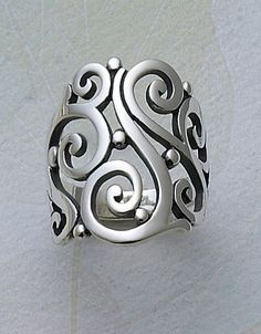 Open Sorrento Ring #jamesavery #jewelry