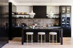 Kitchen in a home in Manhattan Beach, CA designed by DISC Interiors