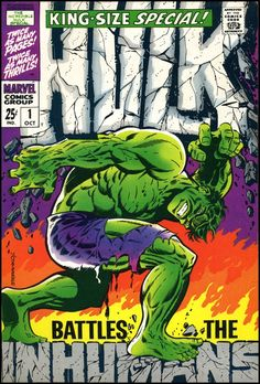 Jim Steranko reminds Marvel readers that the company used to be called Atlas! Inside: Rogue Inhumans trick Hulk into fighting Black Bolt's Royal Family. Written by Mike's brother; art by John's sister.