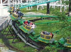 The Turtle Ride At Kennywood Park, West Mifflin Pennsylvania:  I'm not an amusement park fan, but Kennywood is lovely